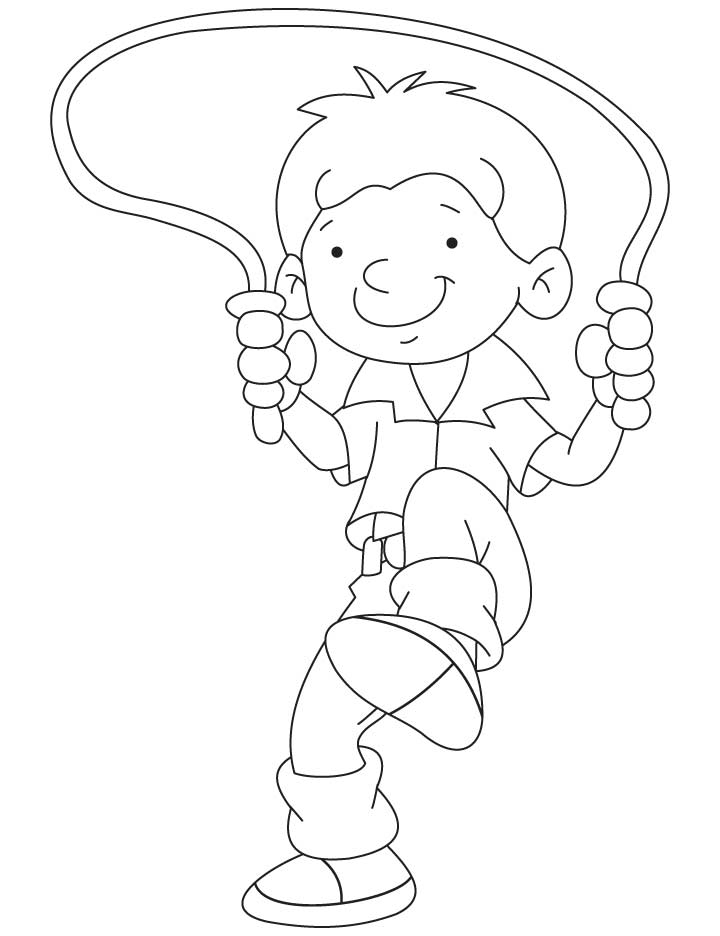 720x936 Jump Rope Coloring Pages Download And Print For Free