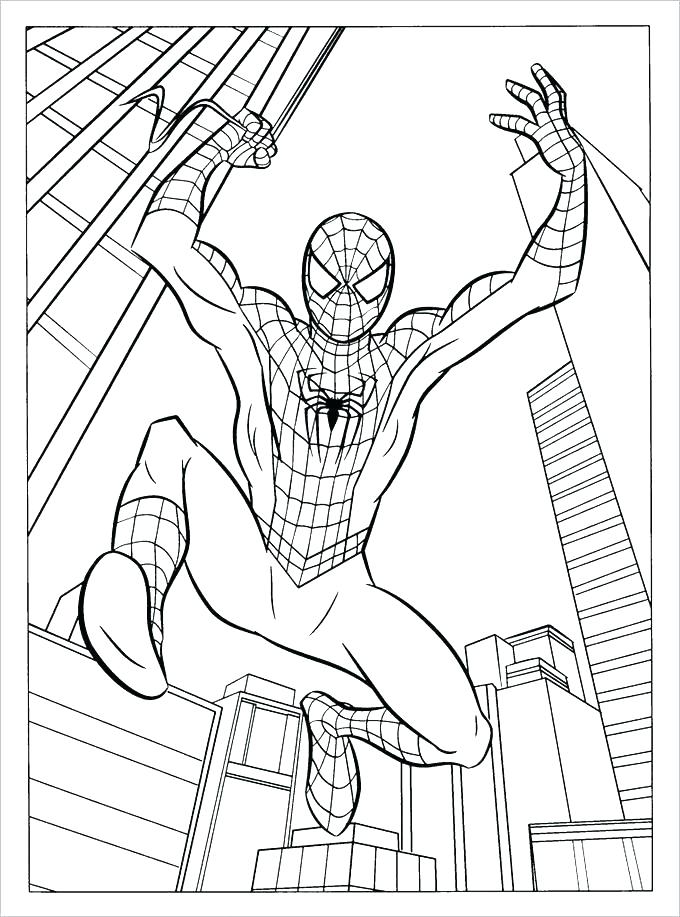 680x917 Coloring Page The Amazing Spider Man Coloring Pages Free Coloring