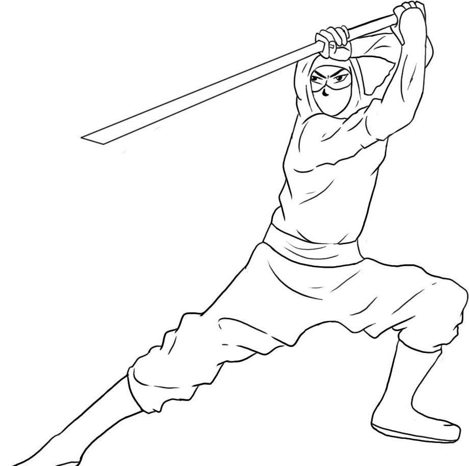 Coloring Pages Karate