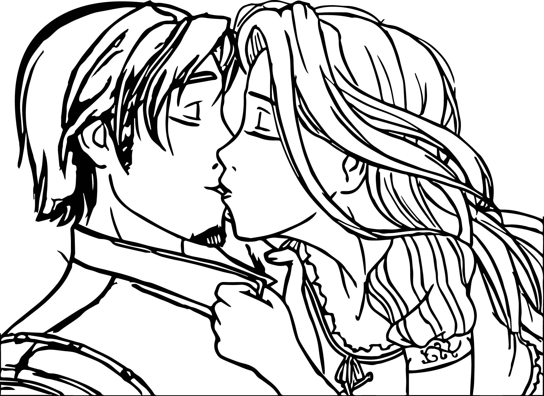 1795x1306 Kiss Coloring Pages