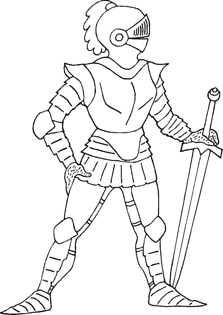 736x1039 Delightful Coloring Pages Dragons Print Of Knights Knight