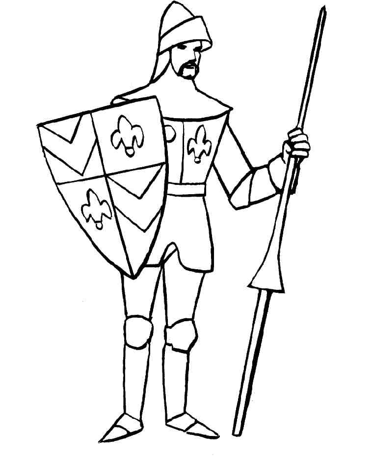 760x938 Kids N Coloring Pages Of Knights