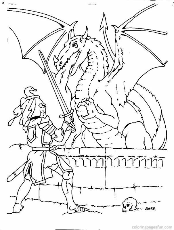 605x800 Knights Coloring Pages Free Printable Coloring Pages