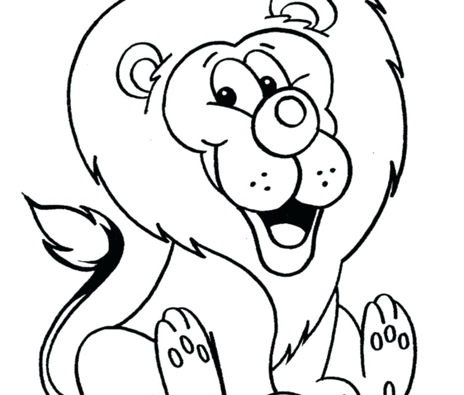 940x800 Phenomenal Lion Coloring Pages On Page Animals Color Sheet L