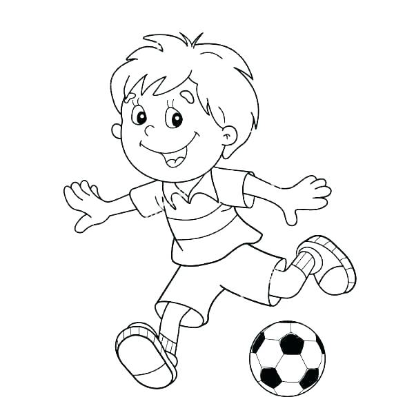 600x592 Coloring Pages Of Football Players Coloring Pages L Players