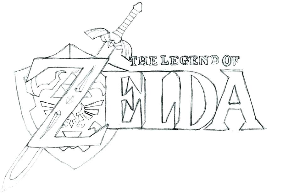 Coloring Pages Legend Of Zelda At Getdrawings Free Download