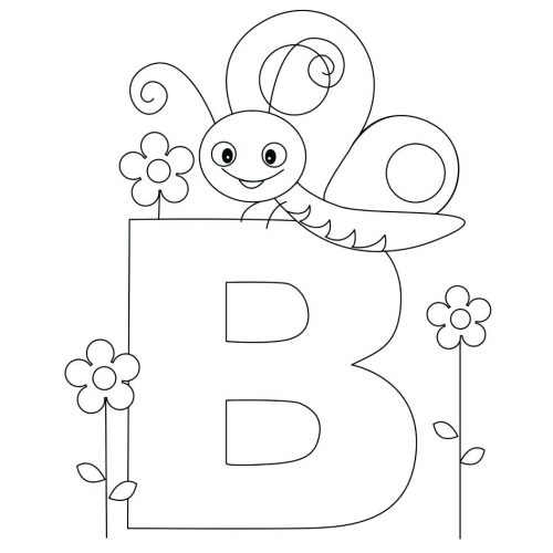 Coloring Pages Letters Of The Alphabet