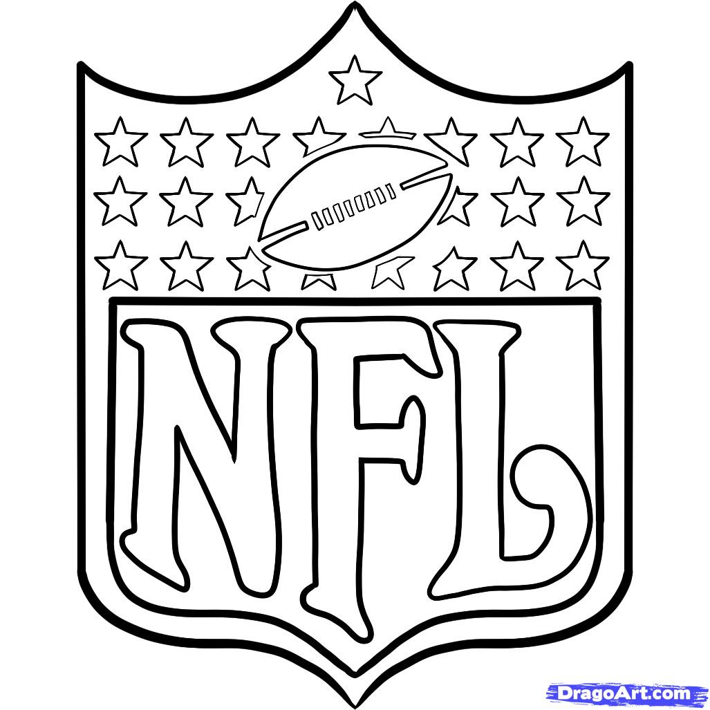 1027x1027 Nfl Team Logos Coloring Pages