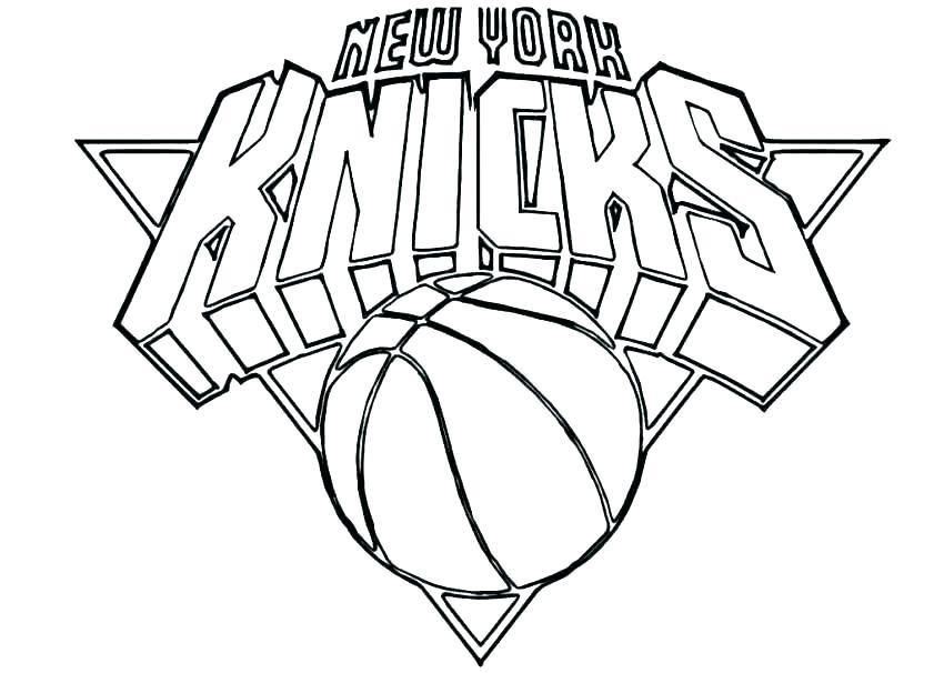 850x606 Nba Logos Coloring Pages Basketball Coloring Pages Printable Logo