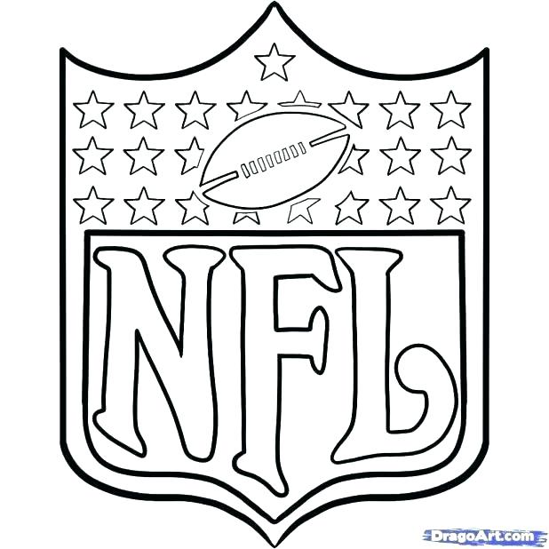 618x618 Nfl Coloring Pages Logo Coloring Pages Logos Sheets Football