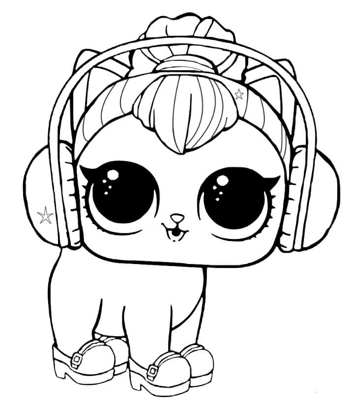 Lol Dolls Printable Coloring Pages At Getdrawings Com Free For