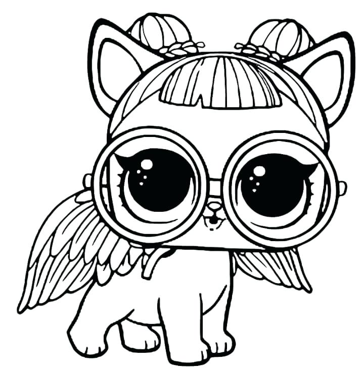Coloring Pages Lol Dolls At Getdrawingscom Free For