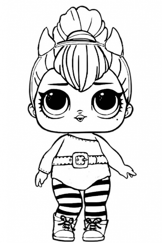 683x1024 Lol Doll Coloring Pages Free Printable Lol Surprise Dolls Coloring