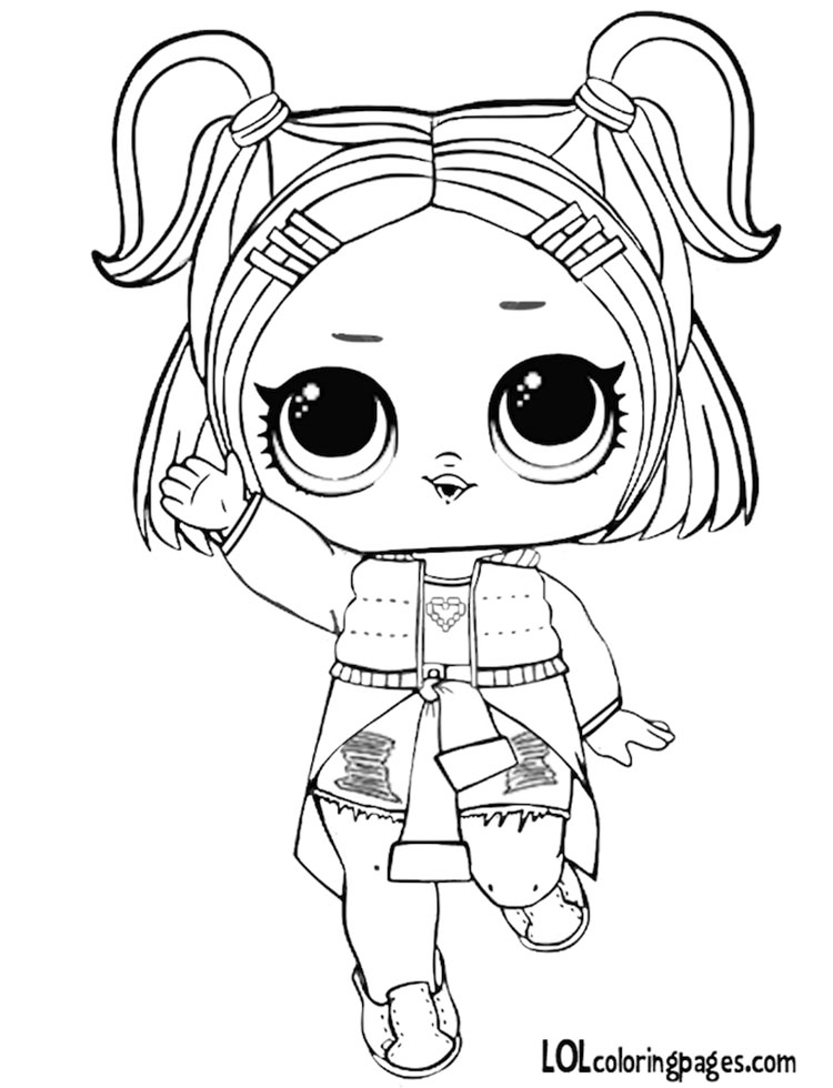 Coloring Pages Lol Dolls At Getdrawings Com Free For