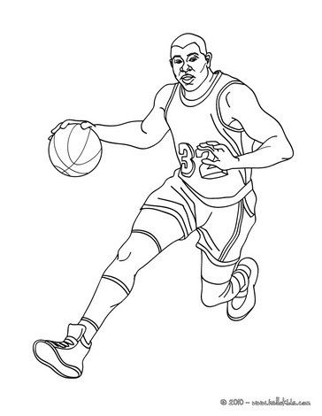 364x470 Magic Johnson Coloring Page From Basketball Coloring Pages More