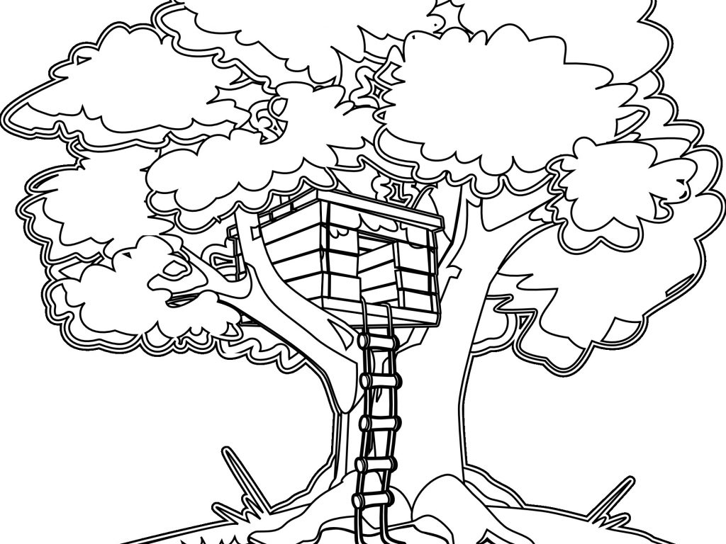 1024x768 Magic Tree House Coloring Pages Printable