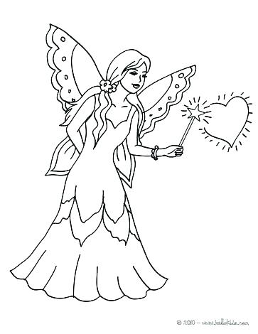 363x470 Fairy Coloring Pages For Kids Fairy Coloring Pages For Kids