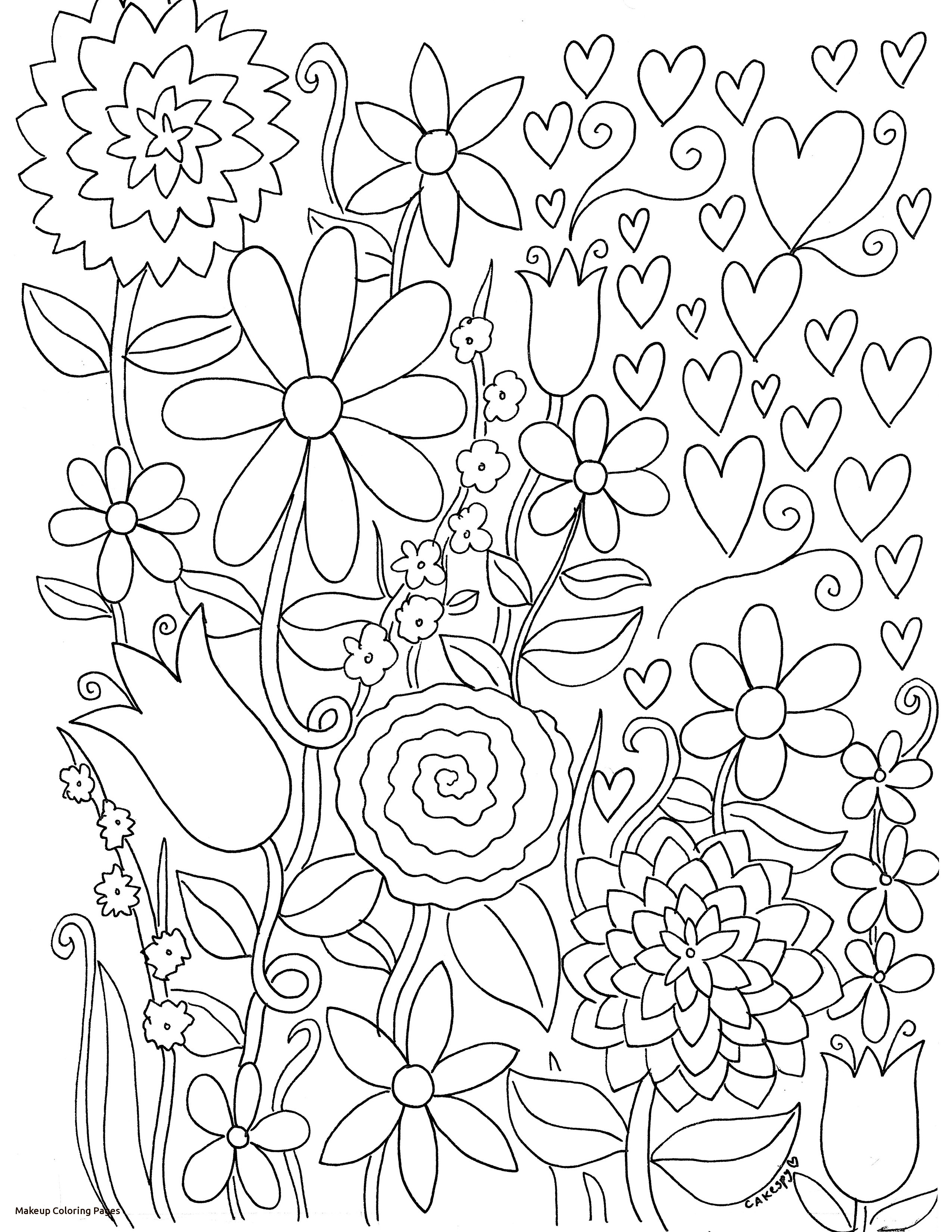 Coloring Pages Makeup At Getdrawings Com Free For Personal