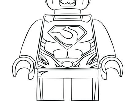440x330 Man Of Steel Coloring Pages Man Of Steel Coloring Page Free