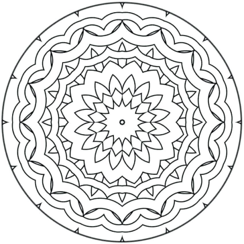850x850 Mandala Color Pages Mandala Mandala Coloring Page Mandala Coloring