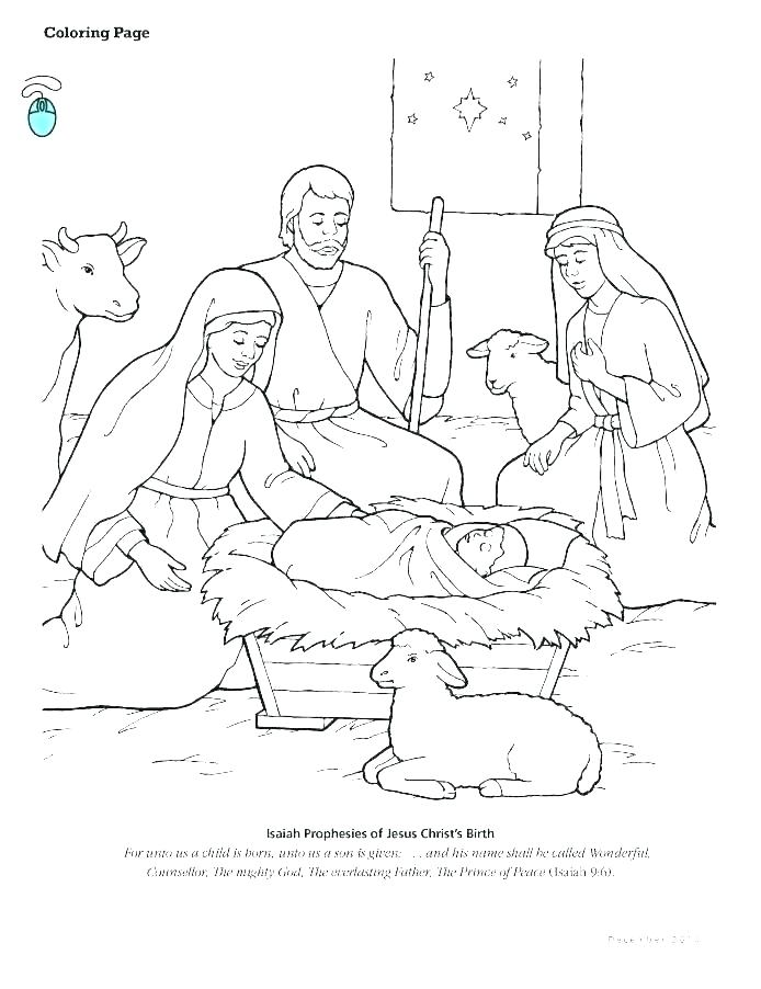 694x902 Nativity Scene Coloring Pages Nativity Scene Coloring Pictures