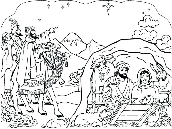 Coloring Pages Manger At Getdrawings Free Download