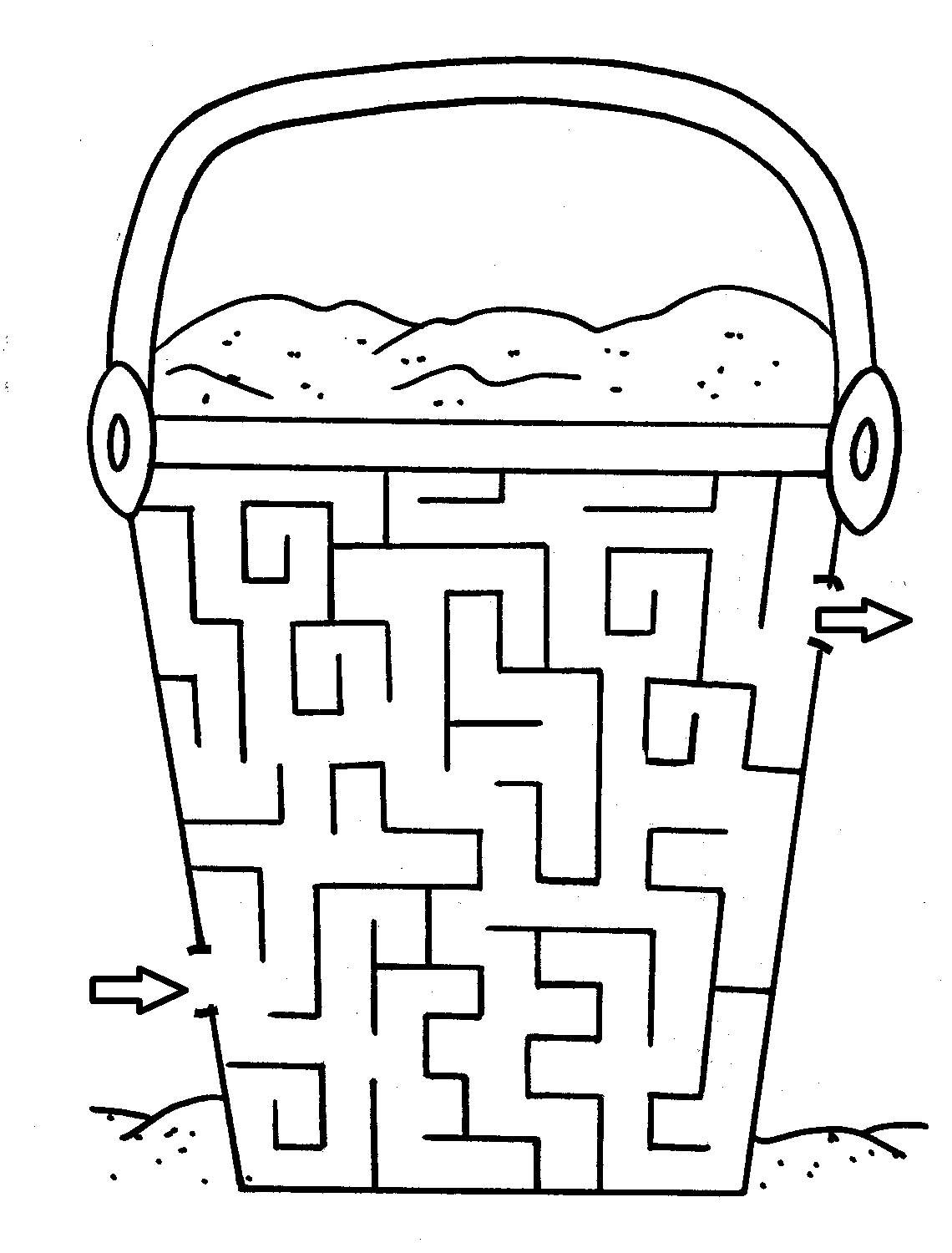 1140x1500 Maze Coloring Pages Compilation Free Coloring Pages