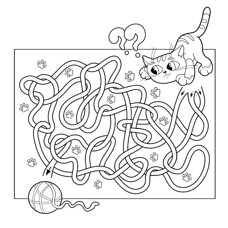 800x800 Maze Coloring Page Road Coloring Pages Road Coloring Page Download
