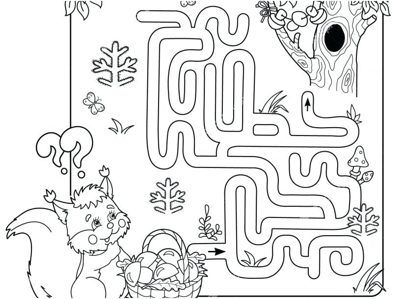 827x609 Maze Coloring Pages Printable Difficult Coloring Pages Advanced