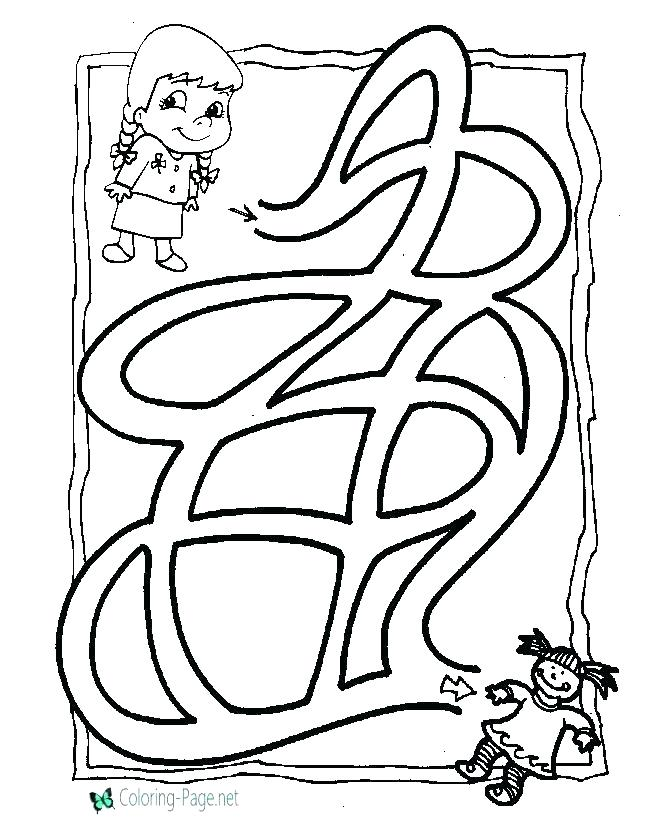 670x820 Maze Coloring Sheets Moon Festival Coloring Pages Guardian
