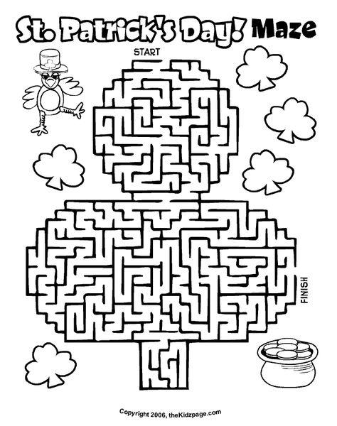 474x600 St Patrick's Day Maze