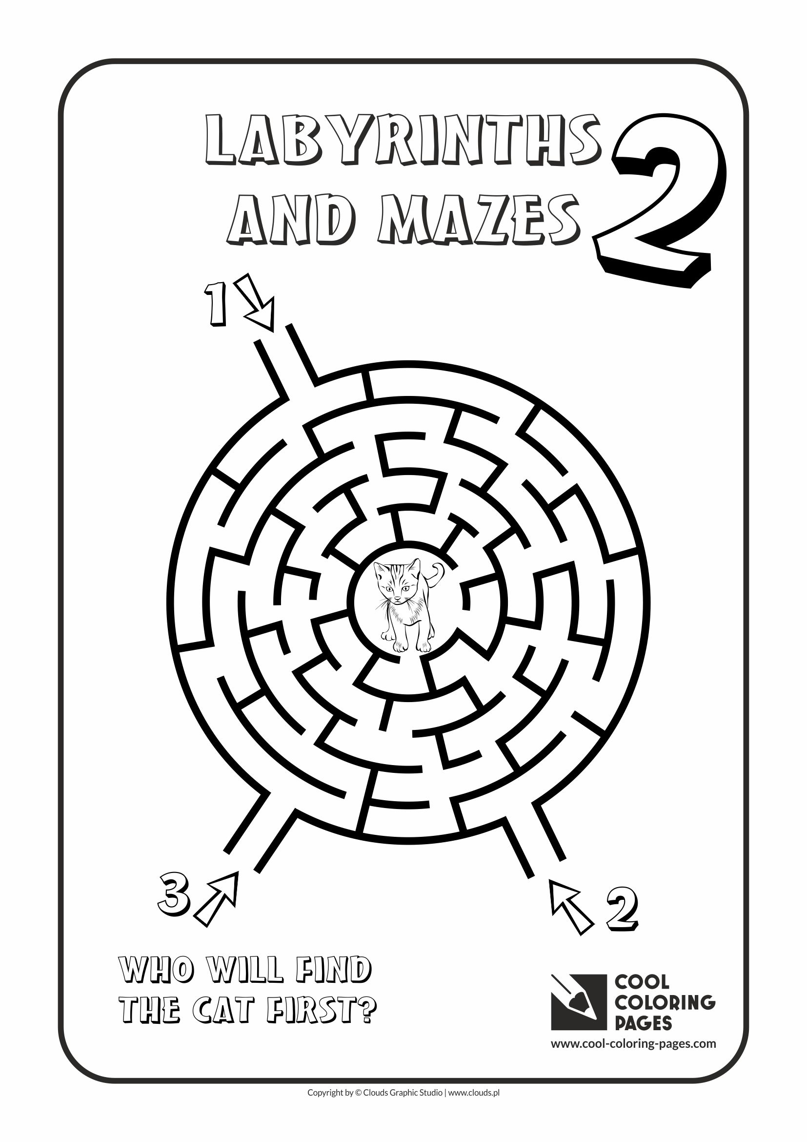 1654x2339 Cool Coloring Pages Labyrinths And Mazes