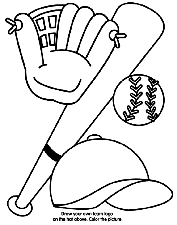 Coloring Pages Mlb