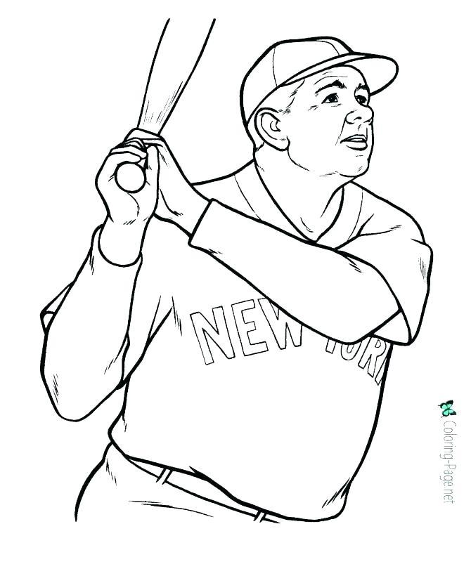 670x820 Baseball Coloring Page Baseball Coloring Page Baseball Coloring
