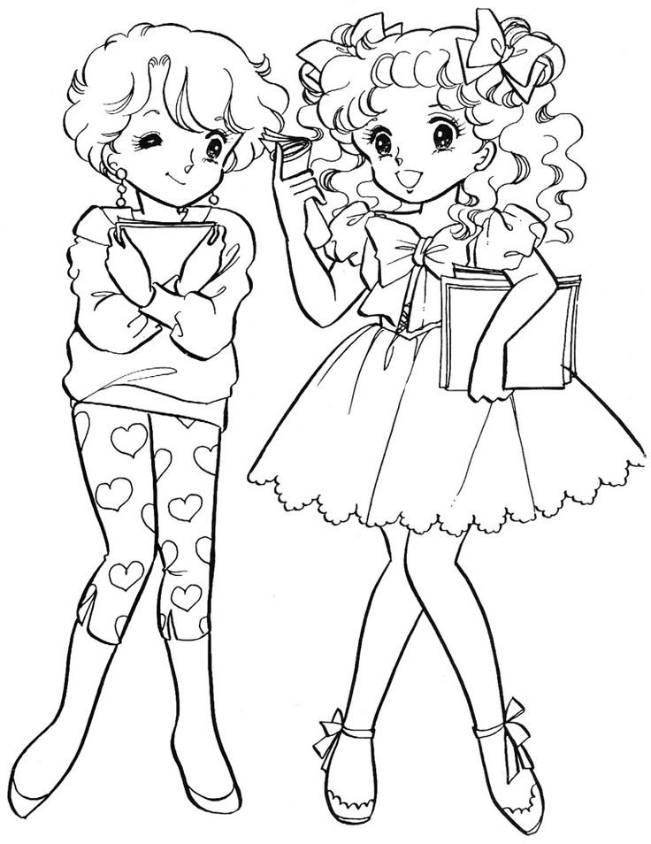 Coloring Pages Models