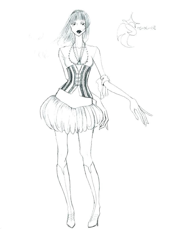 736x960 Coloring Pages Fashion Fashion Designer Coloring Pages Simple