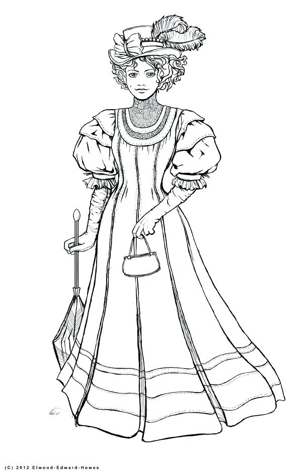 612x946 Coloring Pages For Women Woman Coloring Pages Top Model Coloring