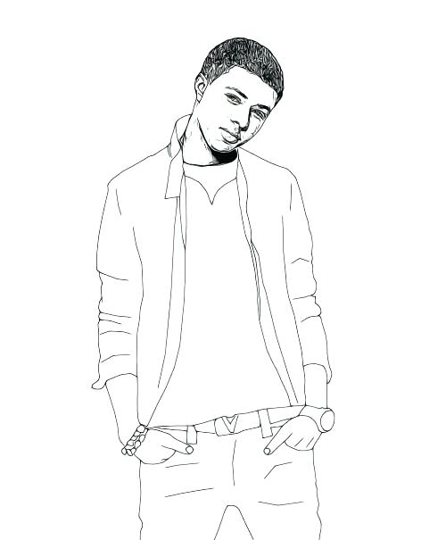 500x605 Famous People Coloring Pages Famous People Coloring Pages