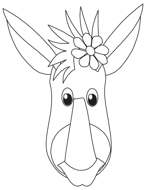 612x792 King Cobra Coloring Pages Donkey Face Coloring Page Photos Donkey