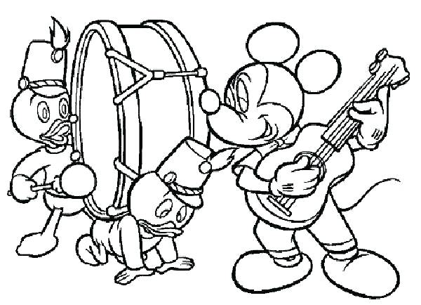 600x434 Music Coloring Pages Printable Music Coloring Page Music Colouring