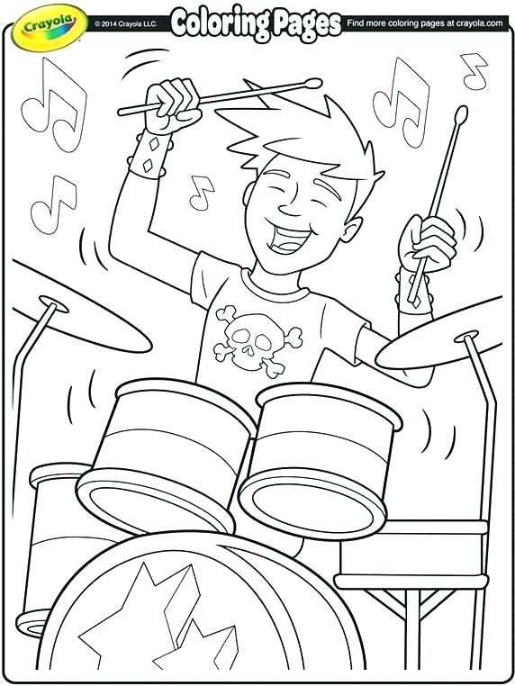 572x762 Musical Coloring Pages Drawn Music Notes Coloring Page Musical