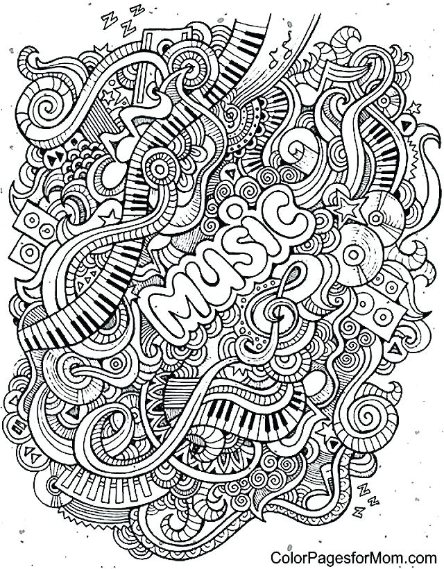 640x820 Musical Coloring Pages Music Coloring Pages Also Musical