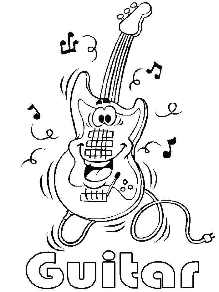 700x933 Musical Instruments Coloring Pages Music Instruments Coloring Page