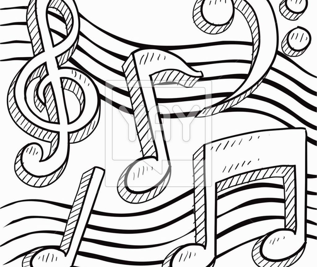 1024x864 Coloring Pages Music Cool Many Interesting Free General Musical