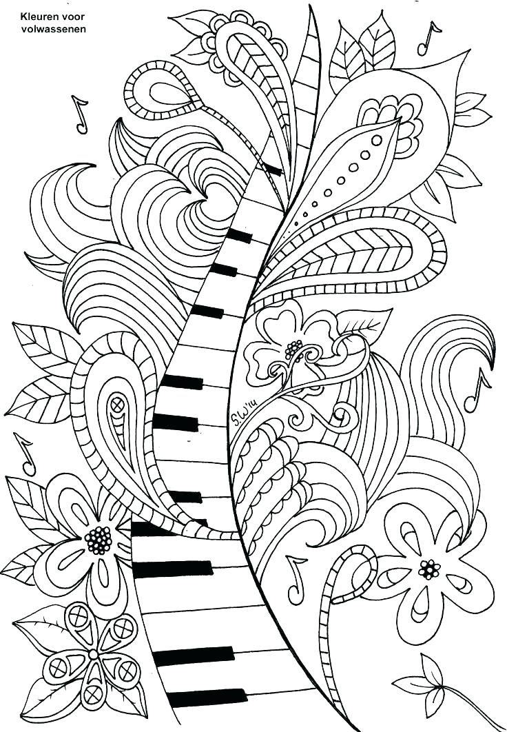 736x1062 Free Music Coloring Pages Coloring Pages Music Music Color Pages