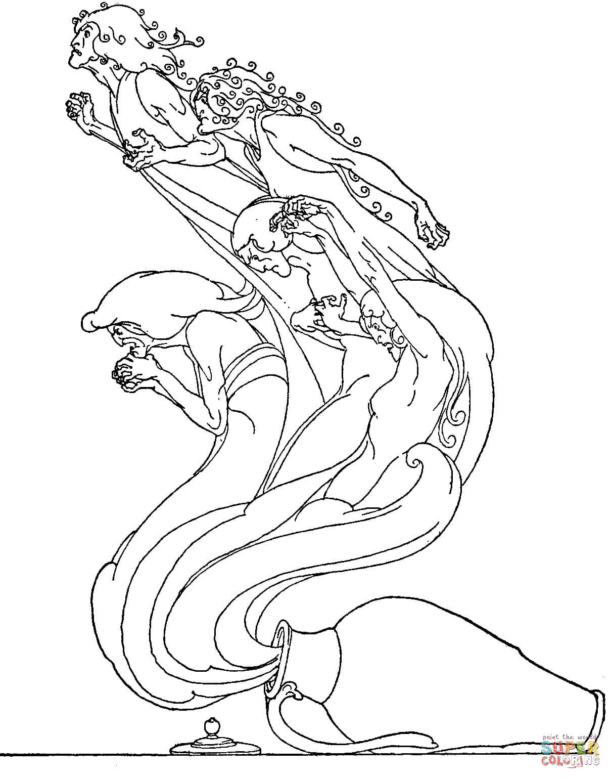 Coloring Pages Mythology At Getdrawings Free Download