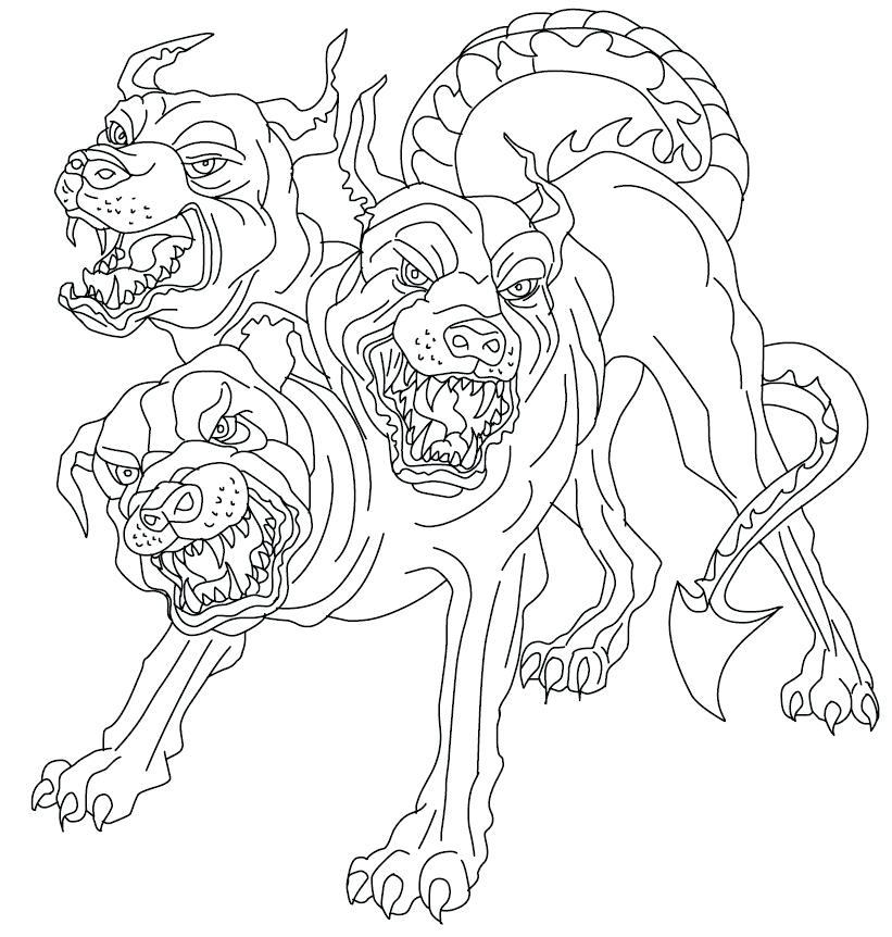 821x862 Mythology Coloring Pages Mythology Animals Coloring Page Greek