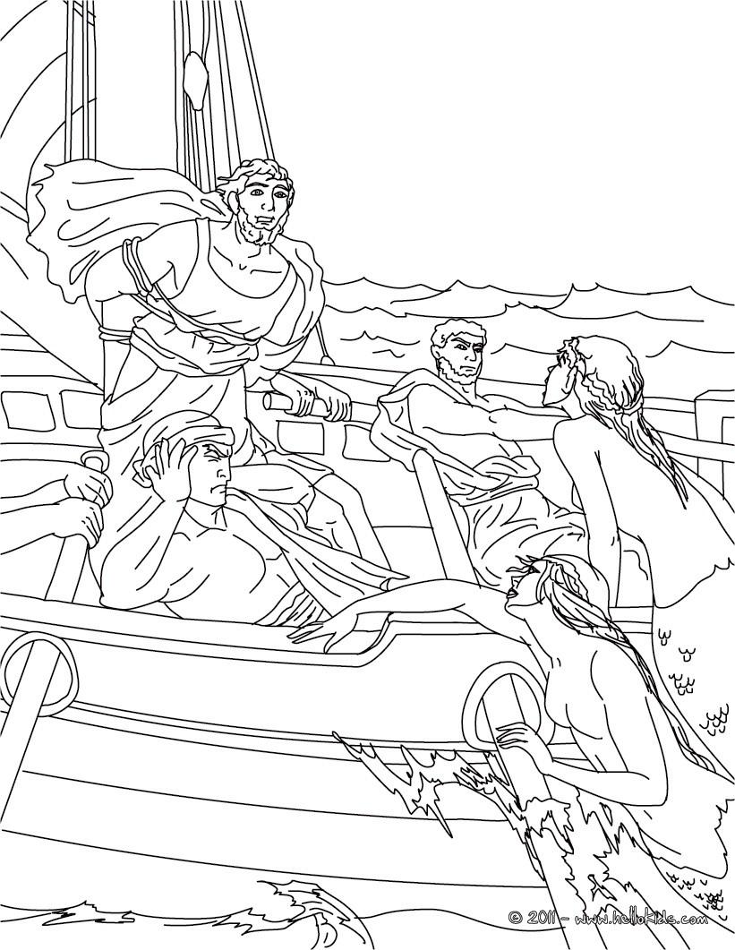 821x1061 Greek Mythology Coloring Pages Printable Within Greek Mythology