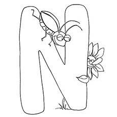 230x230 Top Free Printable Letter N Coloring Pages Online
