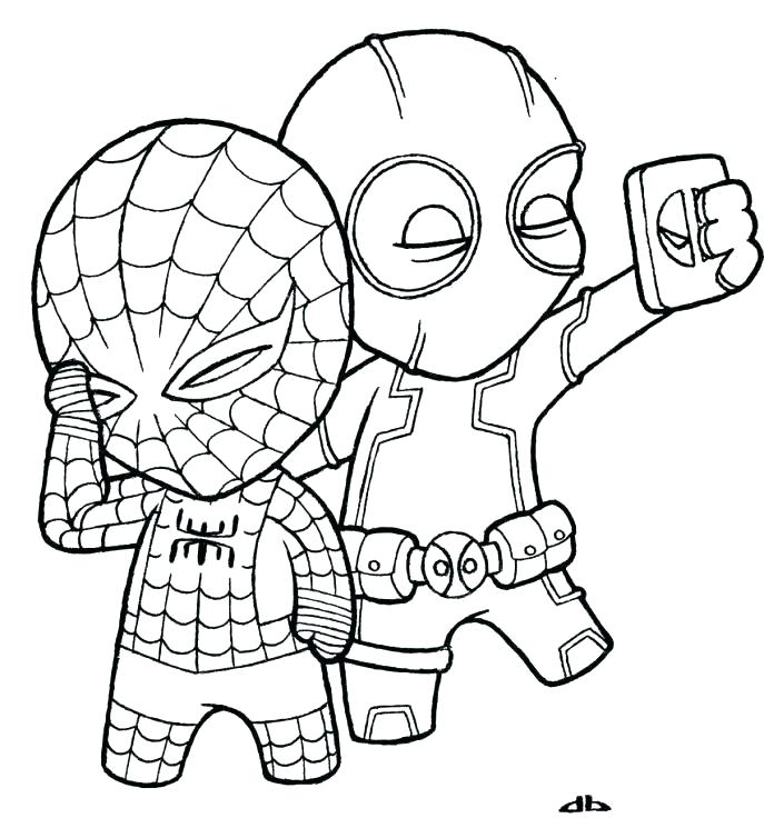 687x754 Awesome Coloring Pages Venom Print Kids N Of Ultimate Spider Man